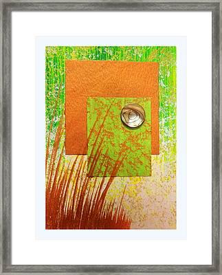 Copper Sunset Framed Print by Darren Robinson