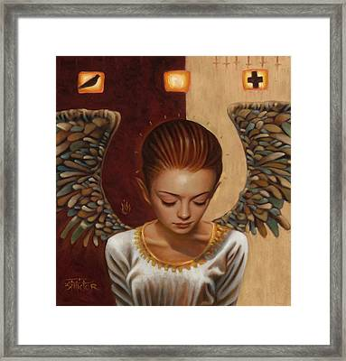 Coppertop Framed Print