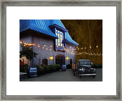 Coppola Winery Framed Print