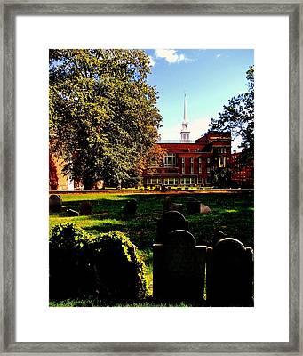 Copp's Hill Framed Print