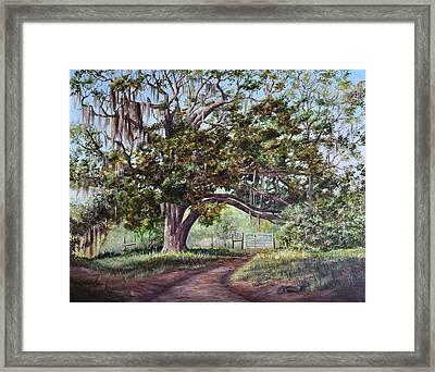 Cop's Tree Framed Print