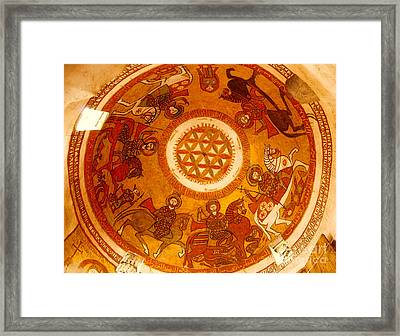 Coptic Martial Saints Framed Print