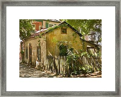 Coquina House Framed Print by Rich Franco
