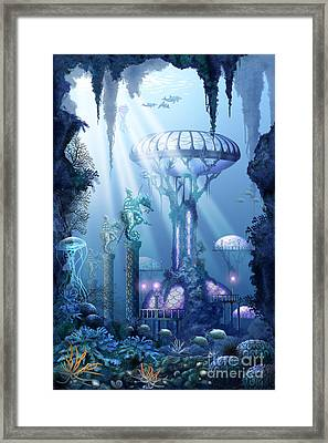 Coral City   Framed Print