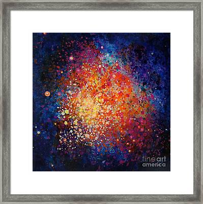 Coral Nebula #2 Framed Print by Freddie Lieberman