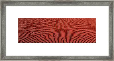 Coral Pink Sand Dunes State Park Ut Usa Framed Print by Panoramic Images