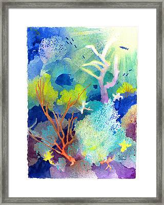Coral Reef Dreams 1 Framed Print