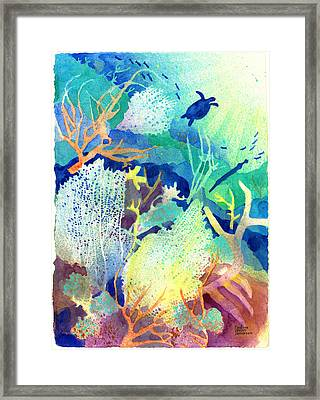 Coral Reef Dreams 2 Framed Print