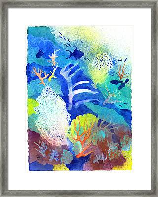 Coral Reef Dreams 3 Framed Print