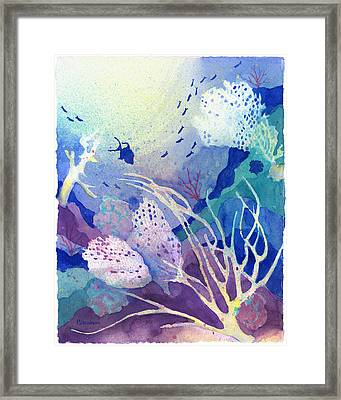 Coral Reef Dreams 4 Framed Print