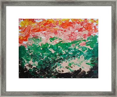 Coral Reef II Framed Print