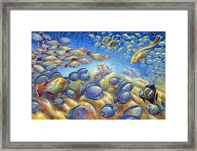 Coral Reef Life Framed Print