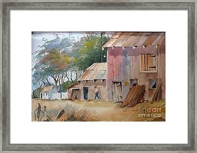 Coral Road Farm Framed Print