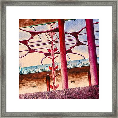 Corbin Center Detail Framed Print