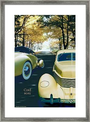 Cord 810-812  Framed Print