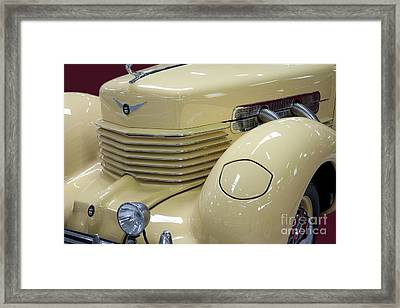 Cord 812 Oldtimer From 1937 Front Framed Print by Heiko Koehrer-Wagner
