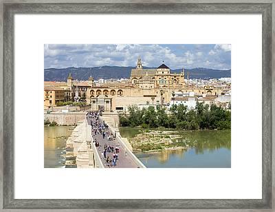 Cordoba In Spain Framed Print