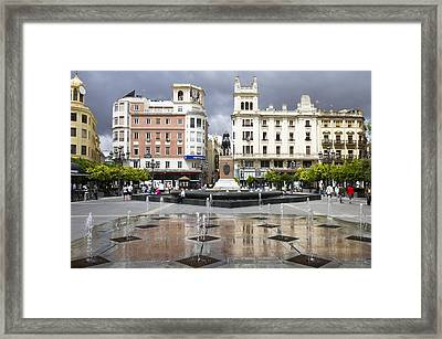 Framed Print featuring the photograph Cordoba Spain City Centre by Nathan Rupert