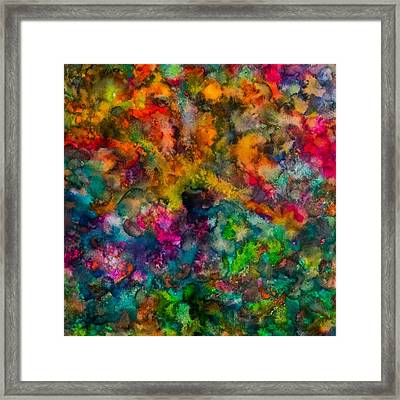 Core Framed Print by  Heidi Scott