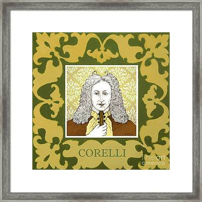 Corelli Framed Print by Paul Helm