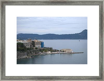 Corfu City 4 Framed Print by George Katechis