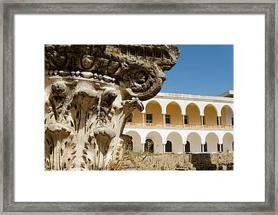Corinthian Capital, Carthage National Framed Print by Nico Tondini