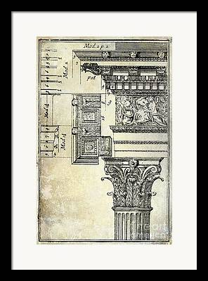 Roman Columns Framed Prints