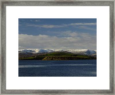 Cork And Kerry Mountains Framed Print