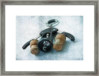 Corkscrew  Framed Print