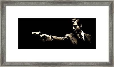 Corleone Framed Print by Laurence Adamson