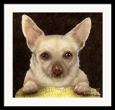 Corn Dogs Framed Prints