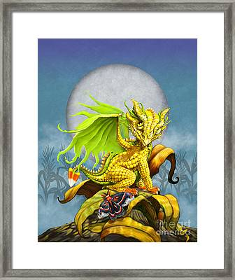 Corn Dragon Framed Print by Stanley Morrison