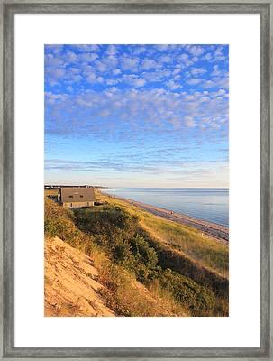 Corn Hill Beach Cape Cod Bay Truro Framed Print by John Burk