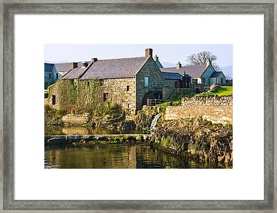 Corn Mill Annalong Northern Ireland Framed Print by Jane McIlroy