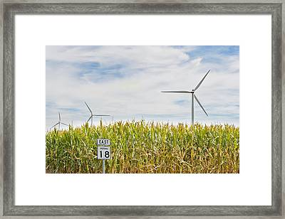 Corn Mill Framed Print