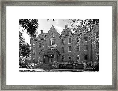 Cornell College Bowman Carter Hall Framed Print