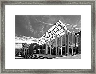 Cornell College Kimmel Theater Framed Print by University Icons