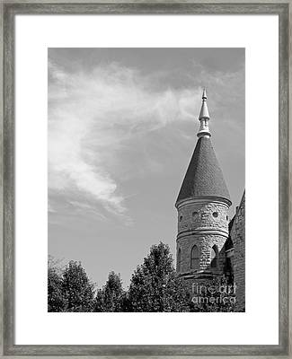 Cornell College King Chapel Framed Print