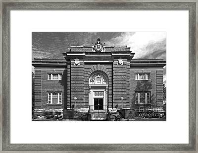 Cornell College Norton Geology Center  Framed Print by University Icons