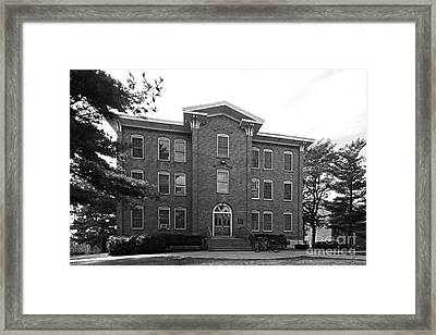 Cornell College South Hall Framed Print