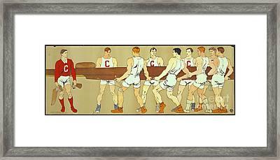Cornell Crew 1907 Framed Print