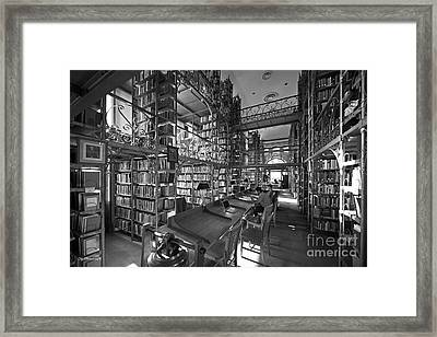 Cornell University Uris Library Framed Print by University Icons