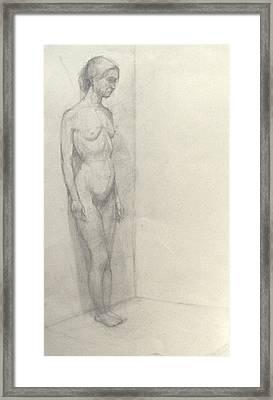 Corner Framed Print by Cynthia Harvey