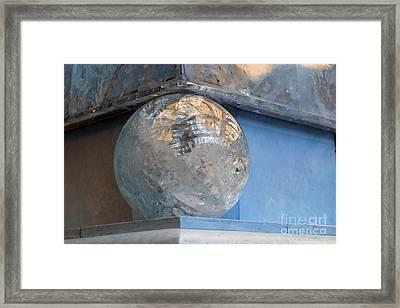 Framed Print featuring the photograph Corner  by Gunter Nezhoda