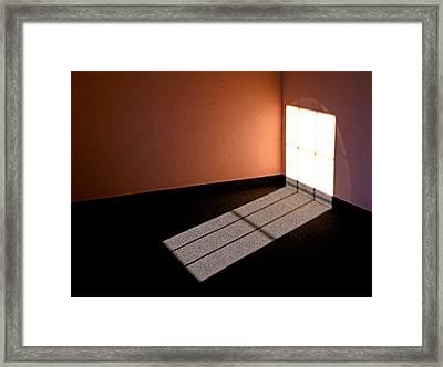 Corner Illumination Framed Print by Christopher McKenzie