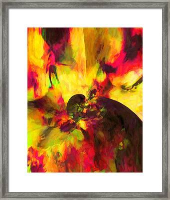 Framed Print featuring the digital art Corner Of Discovery by Joe Misrasi