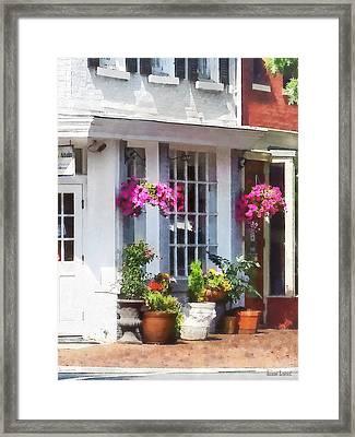 Alexandria Va - Corner Of King Street And S Alfred Framed Print