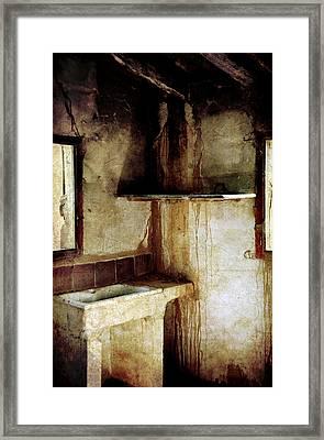 Corner Of Kitchen Framed Print by RicardMN Photography