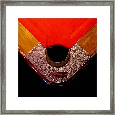 Corner Pocket Framed Print by Sinder Singh