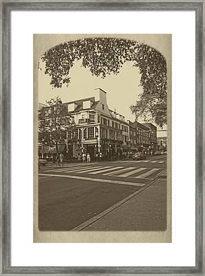 Corner Room Framed Print